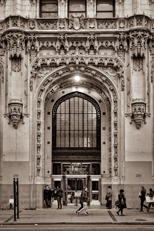 The Woolworth Building Interior