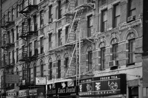 black and white photographs of the Lower East Side